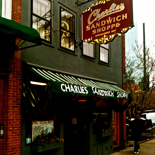Post image for Charlies Sandwich Shoppe | Picture Massachusetts