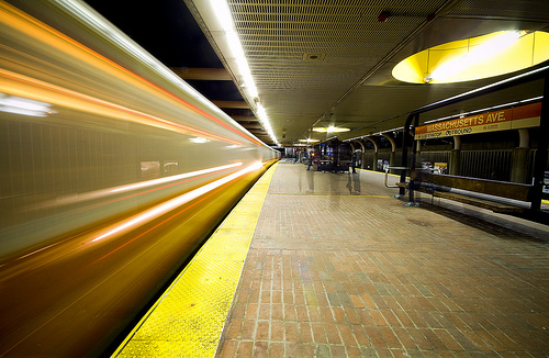 Post image for Mass Ave T Station | Picture Massachusetts